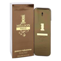 1 Million Prive Cologne by Paco Rabanne, 100 ml Eau De Parfum Spray for Men