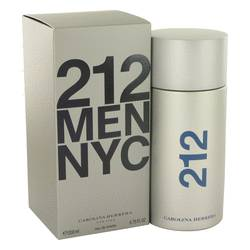 212 Cologne by Carolina Herrera, 200 ml Eau De Toilette Spray for Men