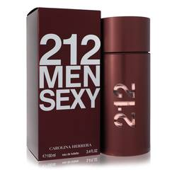 212 Sexy Cologne by Carolina Herrera, 100 ml Eau De Toilette Spray for Men