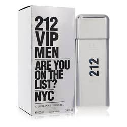 212 Vip Cologne by Carolina Herrera, 3.4 oz Eau De Toilette Spray for Men