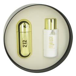 212 Vip Gift Set by Carolina Herrera Gift Set for Women Includes 2.7 oz Eau De Parfum Spray + 6.7 oz Body Lotion