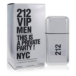 212 Vip Cologne by Carolina Herrera, 1.7 oz Eau De Toilette Spray for Men