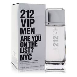 212 Vip Cologne by Carolina Herrera, 200 ml Eau De Toilette Spray for Men
