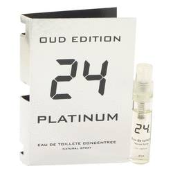 24 Platinum Oud Edition Vial by ScentStory, 3 ml Vial Concentree (sample) for Men