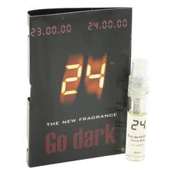 24 Go Dark The Fragrance Sample by ScentStory, 1 ml Vial (sample) for Men