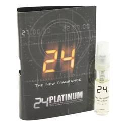 24 Platinum The Fragrance Sample by ScentStory, 1 ml Vial (sample) for Men