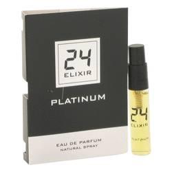 24 Platinum Elixir Sample by ScentStory, 3 ml Vial (sample) for Men