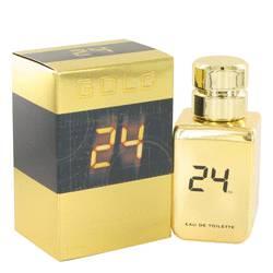 24 Gold The Fragrance Cologne by ScentStory 1.7 oz Eau De Toilette Spray