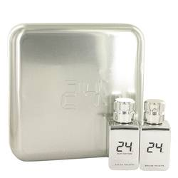 24 Platinum The Fragrance Gift Set by ScentStory Gift Set for Men Includes 24 Platinum 1.7 oz Eau De Toilette Spray + 24 Platinum Oud 1.7 oz Eau De Toilette Spray