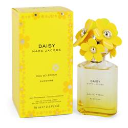 Daisy Eau So Fresh Sunshine Perfume by Marc Jacobs, 75 ml Eau De Toilette Spray for Women