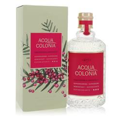 4711 Acqua Colonia Pink Pepper & Grapefruit Perfume by Maurer & Wirtz, 5.7 oz Eau De Cologne Spray for Women