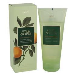 4711 Acqua Colonia Blood Orange & Basil Shower Gel by Maurer & Wirtz, 200 ml Shower Gel for Women