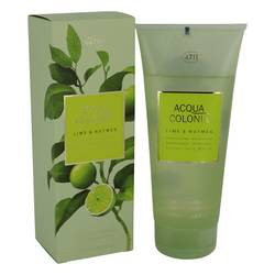 4711 Acqua Colonia Lime & Nutmeg Shower Gel by Maurer & Wirtz, 200 ml Shower Gel for Women