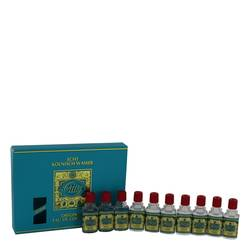 4711 Gift Set by Muelhens Gift Set for Men Includes Includes Ten 0.1 oz 4711 Travel size in a gift pack