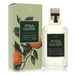 4711 Acqua Colonia Blood Orange & Basil Perfume by Maurer & Wirtz, 5.7 oz Eau De Cologne Spray (Unisex) for Women