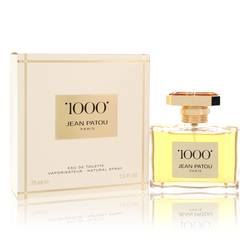 1000 Perfume by Jean Patou, 75 ml Eau De Toilette Spray (Tester) for Women