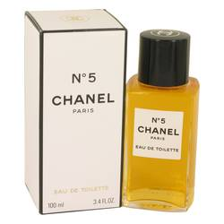 Chanel No. 5 Perfume by Chanel, 100 ml Eau De Toilette for Women