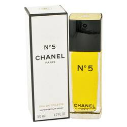 Chanel No. 5 Perfume by Chanel, 1.7 oz EDT Spray for Women