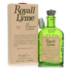Royall Lyme Cologne by Royall Fragrances, 4 oz All Purpose Lotion / Cologne for Men