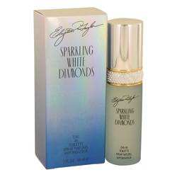 Sparkling White Diamonds Perfume by Elizabeth Taylor, 1 oz Eau De Toilette Spray for Women