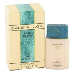 Balenciaga Pour Homme Mini by Balenciaga, .13 oz Mini EDT for Men