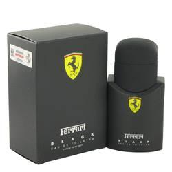 Ferrari Black Cologne by Ferrari, 1.3 oz Eau De Toilette Spray for Men