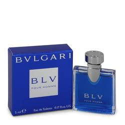 Bvlgari Blv (bulgari) Mini by Bvlgari, .17 oz Mini EDT for Men