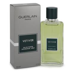 Vetiver Guerlain Cologne by Guerlain, 3.4 oz Eau De Toilette Spray for Men