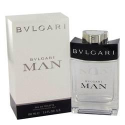Bvlgari Man Mini by Bvlgari, .33 oz Mini EDT Spray for Men