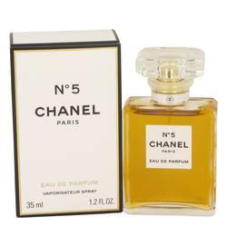 Chanel No. 5 Perfume by Chanel, 1.2 oz Eau De Parfum Spray for Women
