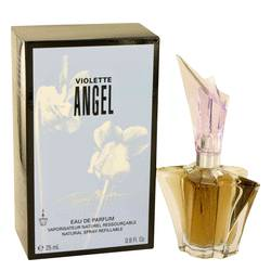 Angel Violet Perfume by Thierry Mugler, 24 ml Eau De Parfum Spray Refillable for Women