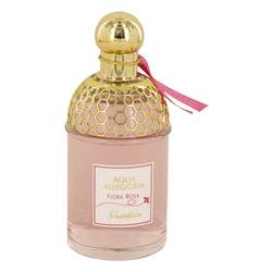 Aqua Allegoria Flora Rosa Perfume by Guerlain, 3.3 oz Eau De Toilette Spray (Tester) for Women