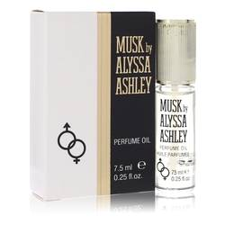 Alyssa Ashley Musk Bath Oil by Houbigant, 7 ml Oil for Women