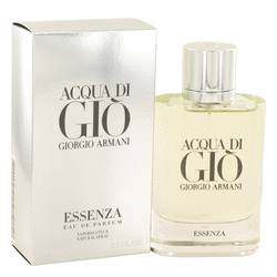Acqua Di Gio Essenza Cologne by Giorgio Armani, 2.5 oz Eau De Parfum Spray for Men