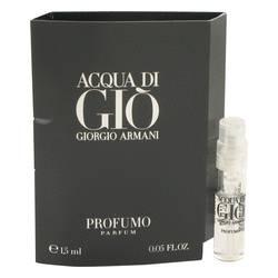 Acqua Di Gio Profumo Sample by Giorgio Armani, 1 ml Vial (sample) for Men