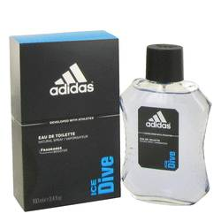 Adidas Ice Dive Cologne by Adidas, 3.4 oz Eau De Toilette Spray for Men
