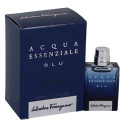 Acqua Essenziale Blu Mini by Salvatore Ferragamo, .17 oz Mini EDT for Men