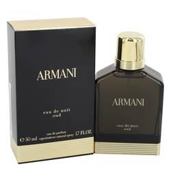 Armani Eau De Nuit Oud Cologne by Girgio Armani, 1.7 oz Eau De Parfum Spray for Men