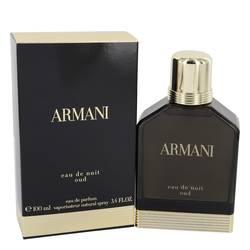 Armani Eau De Nuit Oud Cologne by Girgio Armani, 3.4 oz Eau De Parfum Spray for Men