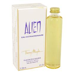 Alien Eau Extraordinaire Perfume by Thierry Mugler, 3 oz Eau De Toilette Spray Eco Refill for Women