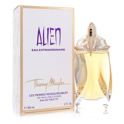 Alien Eau Extraordinaire Perfume by Thierry Mugler, 2 oz Eau De Toilette Spray Refillable for Women