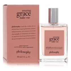 Amazing Grace Ballet Rose Perfume by Philosophy, 2 oz Eau De Toilette Spray for Women