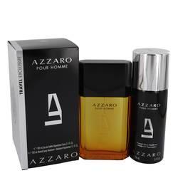 Azzaro Gift Set by Azzaro Gift Set for Men Includes 3.4 oz Eau De Toilette Spray + 5.1 oz Deodorant Spray
