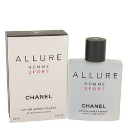 Allure Homme Sport After Shave by Chanel, 100 ml After Shave Lotion for Men
