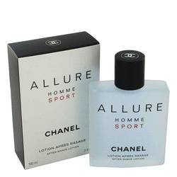 Allure Sport After Shave by Chanel, 100 ml After Shave Moisturizer for Men