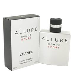 Allure Sport Cologne by Chanel, 3.4 oz EDT Spray for Men