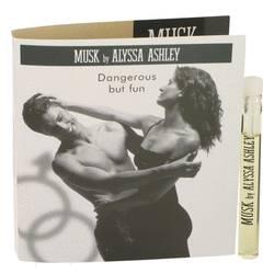 Alyssa Ashley Musk Sample by Houbigant, .06 oz Vial (sample) for Women