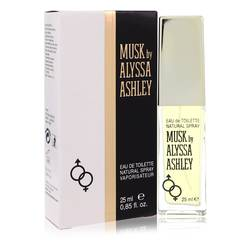 Alyssa Ashley Musk Perfume by Houbigant, .85 oz Eau De Toilette Spray for Women