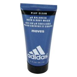 Adidas Moves Shower Gel by Adidas, 60 ml Body Wash (unboxed) for Men