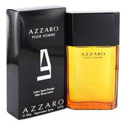 Azzaro After Shave by Azzaro, 3.4 oz After Shave Lotion for Men